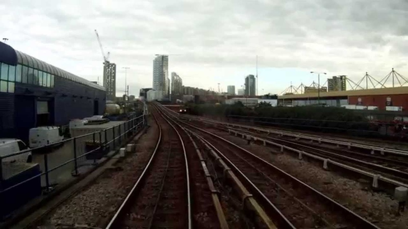 Docklands Light Rail Bank to Woolwich Arsenal