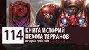 История StarCraft Пехота Доминиона Морпех Мародер Медик Головорез История Юнитов