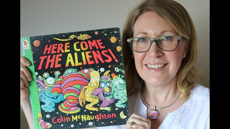 Here Come the Aliens   Childrens Books Read Aloud