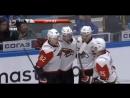 Медведев забивает 2 шайбу Барысу