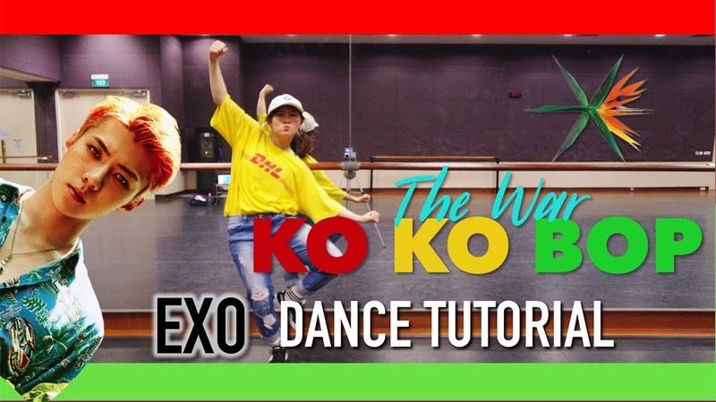 Exo Ko Ko Bop Dance Tutorial | Full w Mirror [Charissahoo]