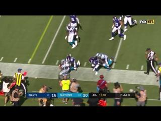 Christian McCaffreys Big Game vs. Giants