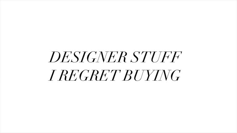 Expensive Things I Regret Buying Best Purchases