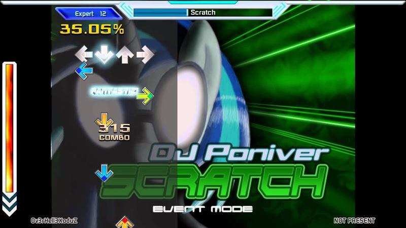 Stepmania 5 Scratch DJPoniver Expert 12 96 09%
