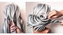 Красивые Прически на Длинные Волосы. Прическа на Выпускной БЕЗ НАКРУТКИ. New Hairstyles ©LOZNITSA