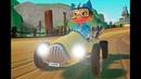 Мультик про машинки для мальчиков Мяу гонщики на тачках Игра мультик для детей