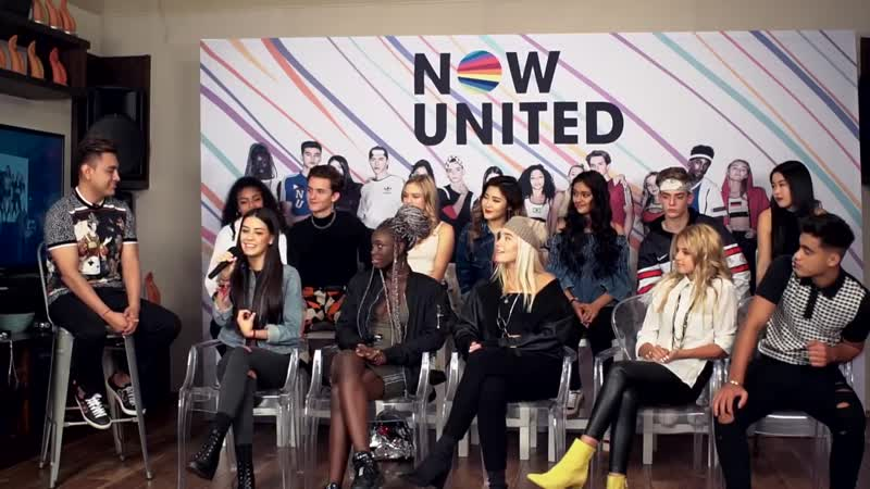 Now United Intentan Decir Frases En Español