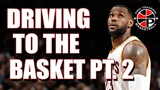 How To Drive To The Basket PT. 2 Creating An Angle Pro Training Basketball