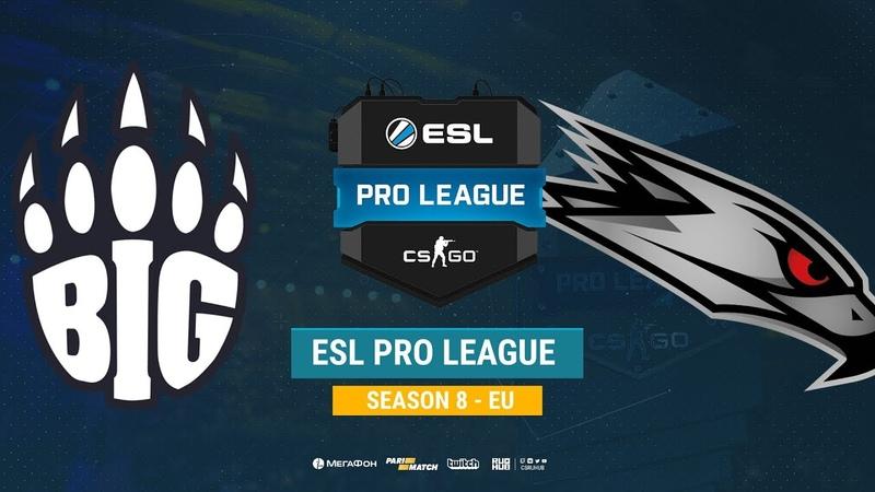 BIG vs AGO ESL Pro League S8 EU bo1 de dust2 Enkanis ceh9