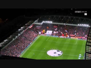 Champions League nights at Anfield - You'll Never Walk Alone