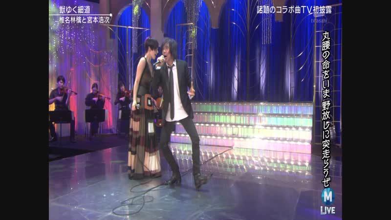 Shiina Ringo, Hiroji Miyamoto - Kemono Yuku Hosomichi (MUSIC STATION 2018.11.09)
