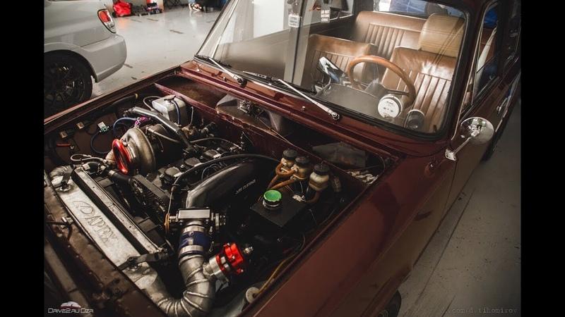 Авто-обзор 8, ВАЗ 2101 Турбо - 700 л.с. на 16-ти клапанном двигателе от AMC