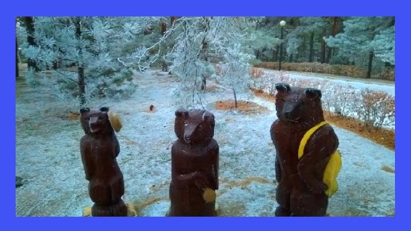 Сказочный зимний парк Этот прекрасный мир❄️🌲