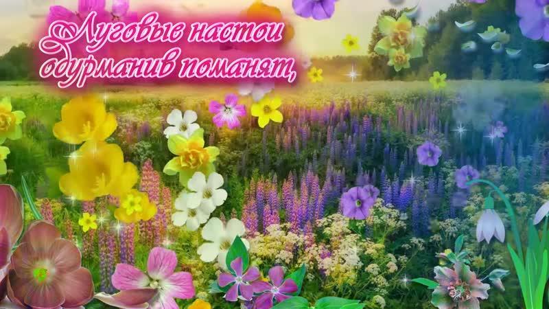 Для тебя все цветы в этом сказочном мире! - YouTube