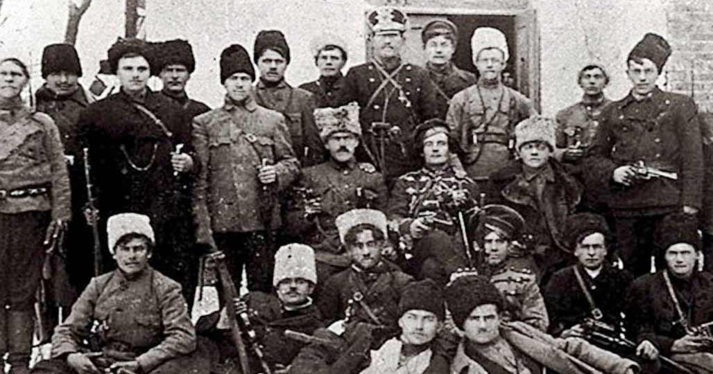 Бойцы махновских отрядов