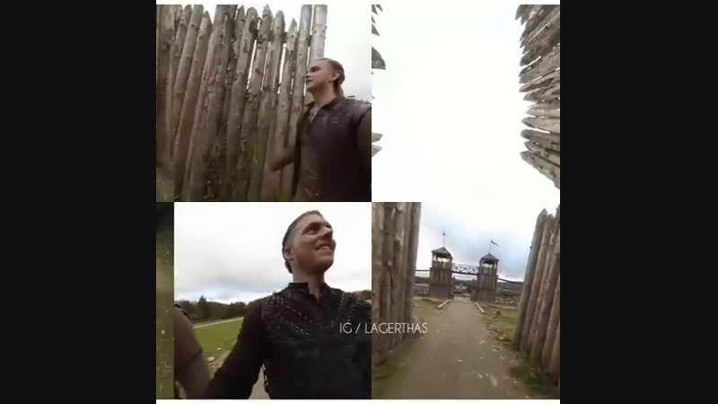 Alex and Marco 360° Tour of Kattegat, from @historyvikings on Facebook.