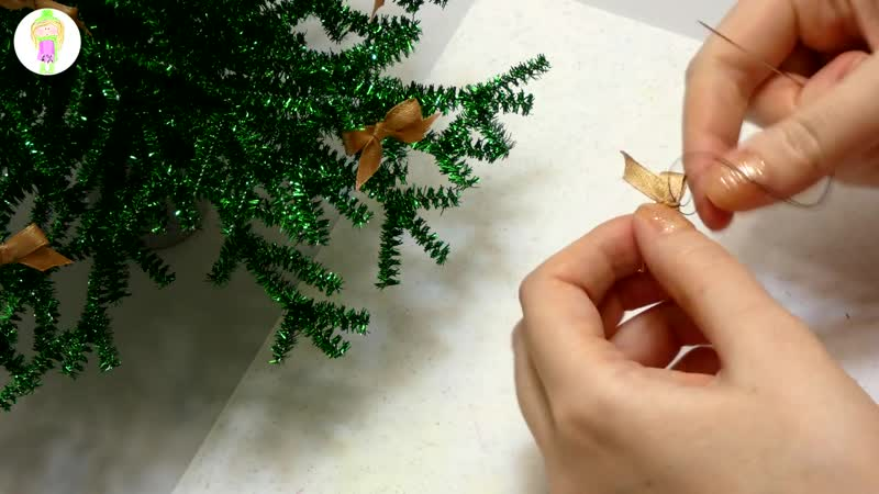 DIY Елочка для кукол своими руками - Christmas tree for dolls own hands