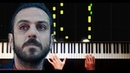 Daglar Kışımış-Çukur Müziği - Piano Tutorial by VN