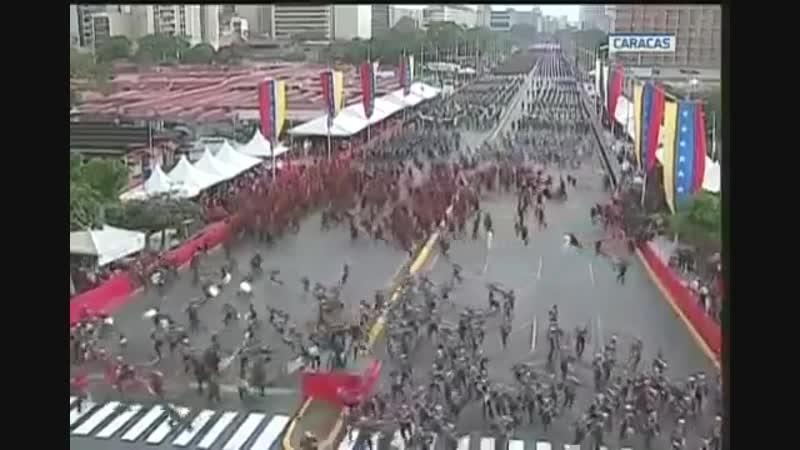 Kreml Ankara und Madrid verurteilen das Attentat auf Nicolas Maduro