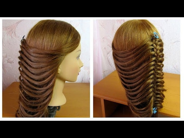 Tuto coiffure simple 🌷 Belle coiffure facile à faire cheveux long 🌷 Easy hairstyle for long hair