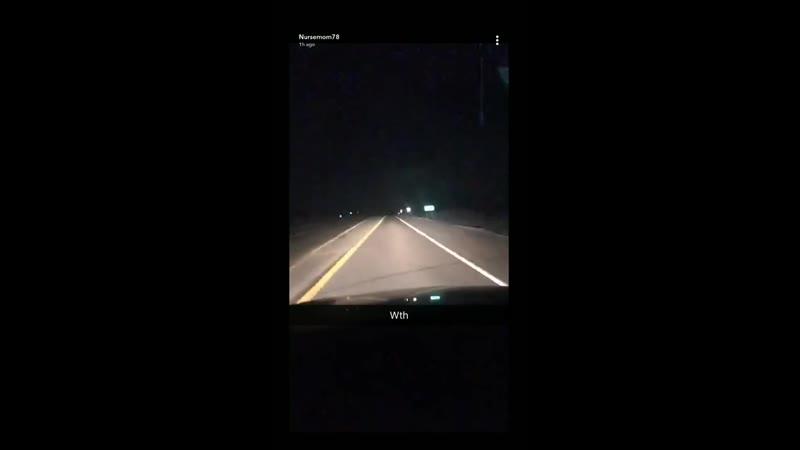 ...огни в небе Северо-Западной Айовы...снято примерно в 3 милях к востоку от Paullina . Северо-Западная Айова.