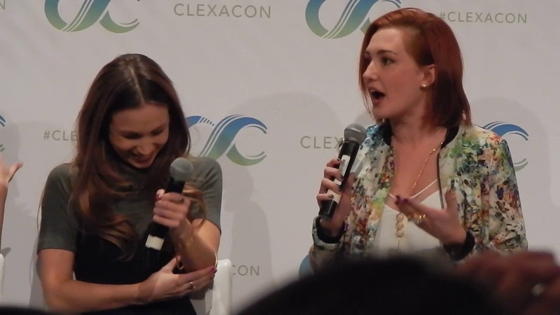 WayHaught at ClexaCon 2017: Reaction to Character's Survival