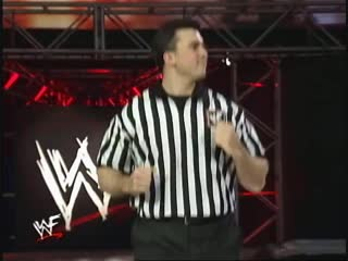 Triple H Vs Mankind - Shane McMahon As Guest Referee - Winner Enter The Royal Rumble Match - RAW 04.01.1999