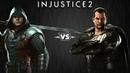 Injustice 2 - Робин против Чёрного Адама - Intros Clashes (rus)