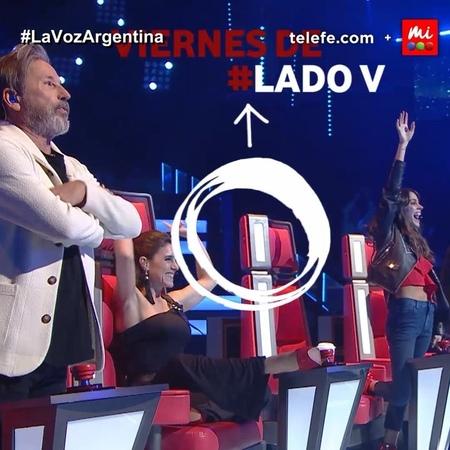"""La Voz Argentina on Instagram: """"¡Es viernes, llega LadoV y tu cuerpo lo sabe! 🕺💃 Se viene mucho más material exclusivo e invitados de lujo 👉 Toma..."""