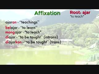 (less) the malay language (bahasa melayu)