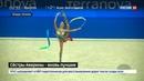 Новости на Россия 24 • Гимнастки Аверины взяли золото и серебро чемпионата мира в многоборье