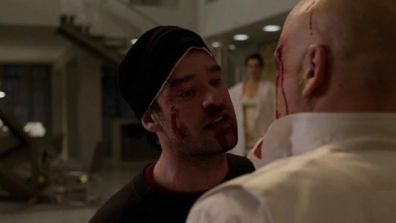 Daredevil S03E13 - Final Fight ( Matt Saying I Beat You to Fisk) ~ HD