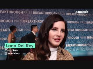4 ноября 2018: Лана на церемонии «Breakthrough Prize»