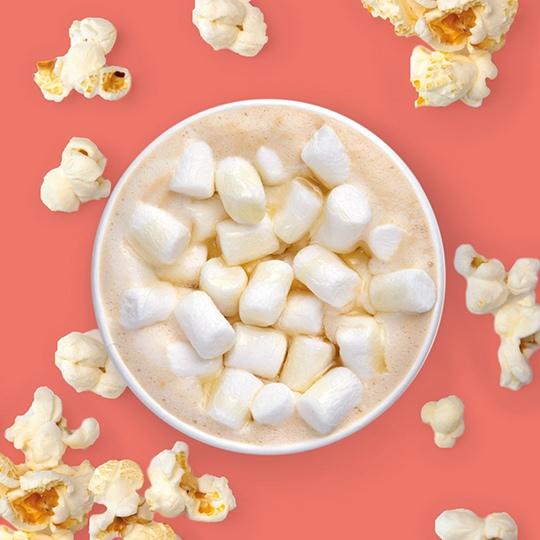 Радуйся вкусу: Капучино попкорн