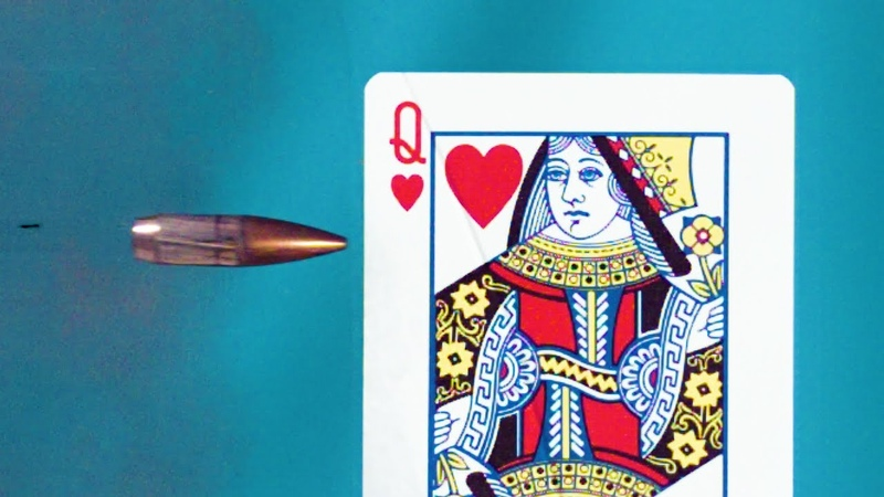 Splitting a Playing Card in ULTRA SLOW MOTION - Smarter Every Day 194