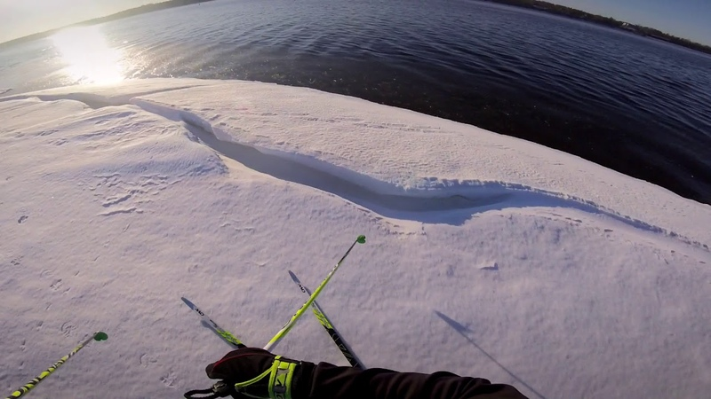 На Лыжах по Кромке Льда