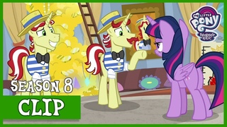 Twilight Uncovers the Truth behind Flim and Flam's U (Friendship University) | MLP: FiM [HD]