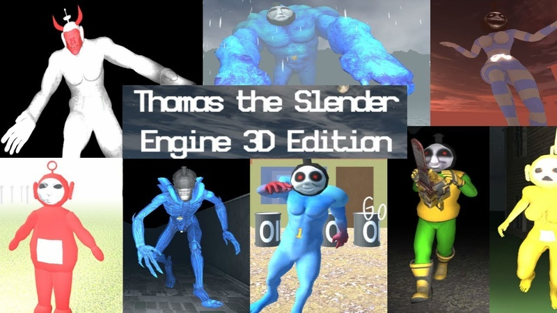 Thomas the Slender Engine 3D Edition [Demo] [Horror Gameplay]