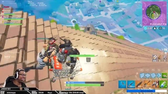 Ez sniper shopping cart