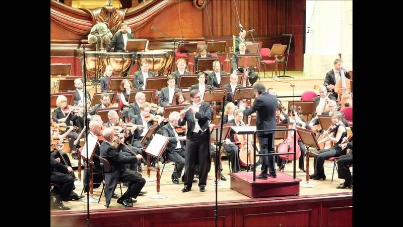 Dobrzyński - Andante i Rondo G-dur alla polacca op. 42 na flet i orkiestrę