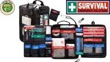 автомобильная аптечкатуристическая аптечка SURVIVAL First Aid KIT Emergency Solutions!