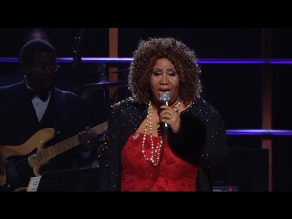 Aretha Franklin Performs Baby I Love You at the 25th Anniversary Concert