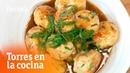 Albóndigas de pollo y gambas Torres en la Cocina RTVE Cocina