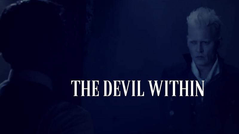 Gellert grindelwald albus dumbledore the devil within