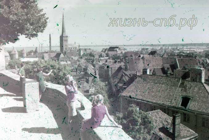 Эстонская ССР. г.Таллин. Вид на город.
