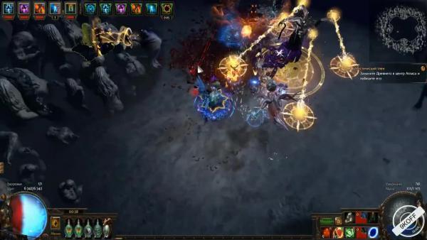 Path of Exile: (3.5) Ведьма - Маг стихий - Ледяные големы (Ice golem)