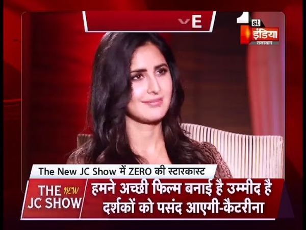 Exclusive Interview of Shahrukh Khan Katrina kaif and Anushka Sharma The New JC show