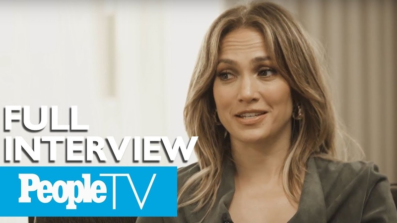 Jennifer Lopez Opens Up About Balancing Her Music Acting Love Life FULL PeopleTV