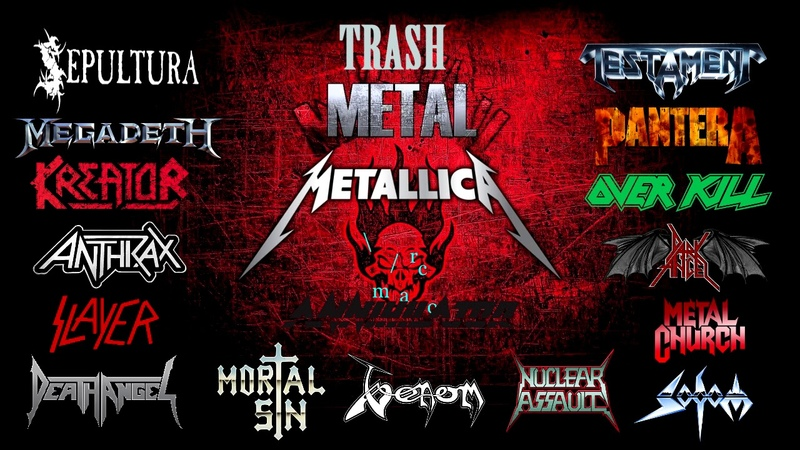 THRASH METAL only from 1985 -1990 Bands classic full songs \m