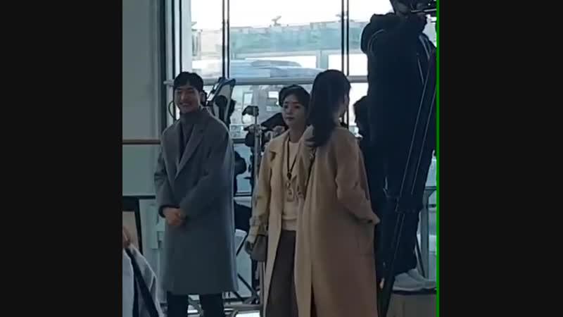 13.11.2018 || Fox Bride Star || Where Stars Land shooting (Lee Je Hoon, Chae Soo Bin, Lee Soo Kyung)